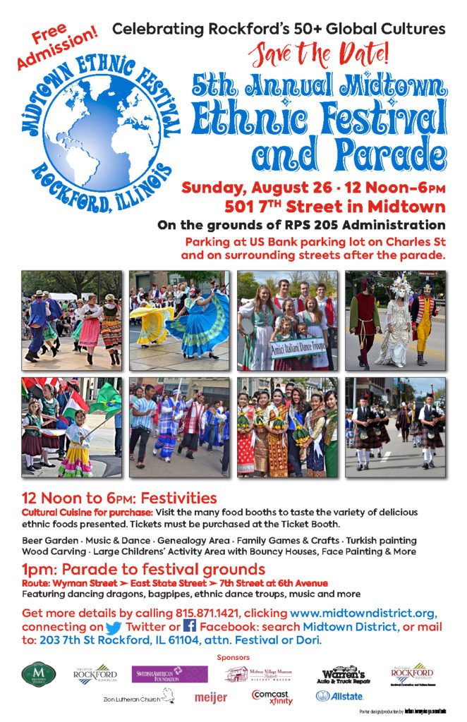 Midtown Ethnic Parade and Festival 2018Flyer